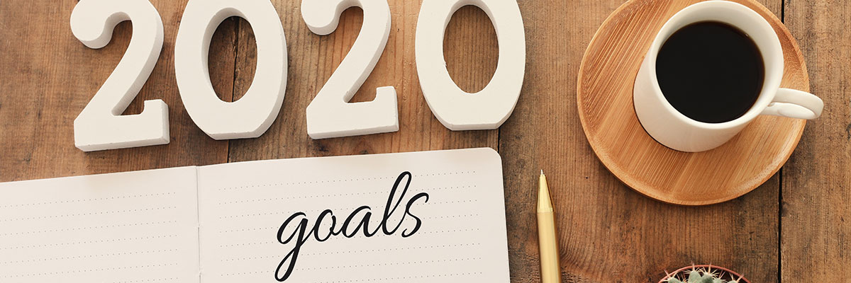 notes to form a habit to achieve 2020 goal