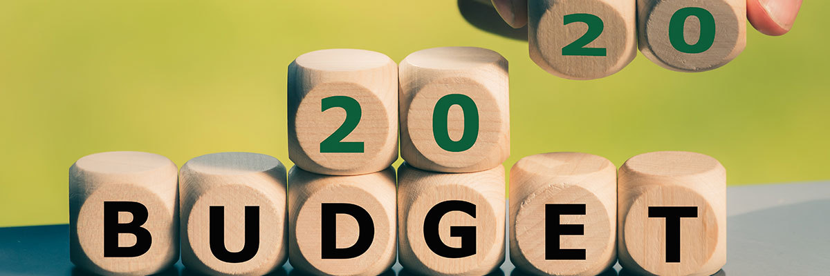 2020 budget to stay financially fit